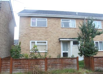 Thumbnail 3 bedroom end terrace house for sale in Hawthorns, King's Lynn