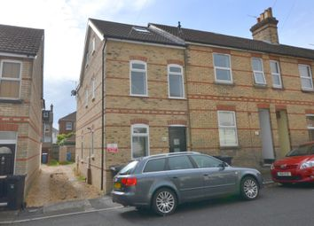 Thumbnail 3 bed end terrace house for sale in Woking Road, Lower Parkstone, Poole