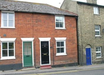 Thumbnail 2 bed terraced house to rent in Debden Road, Saffron Walden, Essex