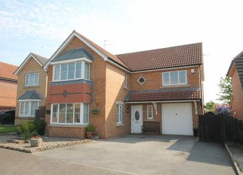 Thumbnail 4 bed detached house for sale in Abbots Green, Willington, Crook