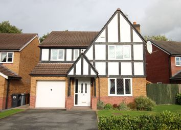Thumbnail 4 bed detached house to rent in Elm Drive, Holmes Chapel, Crewe