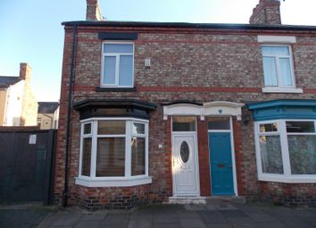Thumbnail 2 bed end terrace house for sale in Kensington Road, Stockton-On-Tees