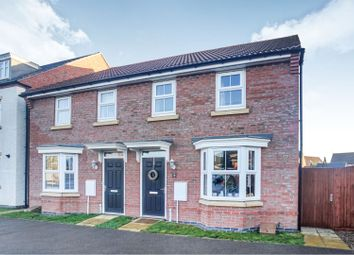 Thumbnail 3 bed semi-detached house for sale in Severus Crescent, North Hykeham