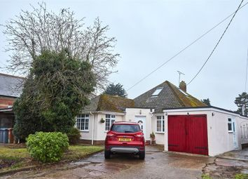 Thumbnail 3 bed detached bungalow for sale in Falkenham Road, Kirton, Ipswich, Suffolk