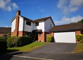 Thumbnail 4 bed detached house for sale in Newbery Close, Colyton, Devon