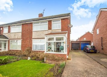 Thumbnail 3 bedroom semi-detached house for sale in Dochdwy Road, Llandough, Penarth