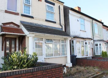 Thumbnail 3 bedroom end terrace house for sale in Wyrley Road, Witton, Birmingham