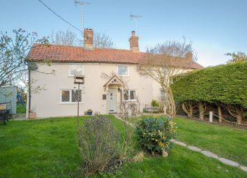 Thumbnail 2 bed cottage for sale in Hollow Hill, Withersfield, Haverhill