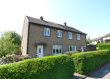 Thumbnail 2 bed semi-detached house for sale in Burns Road, Greenock