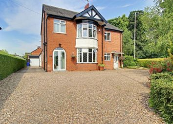 Thumbnail 4 bed detached house for sale in West End Road, Cottingham