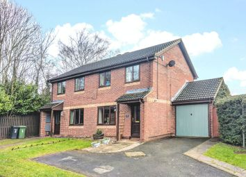 Thumbnail 3 bed semi-detached house for sale in Camelot Close, Hereford