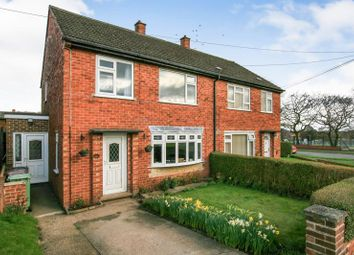 Thumbnail 3 bed semi-detached house for sale in The Avenue, Dronfield, Derbyshire