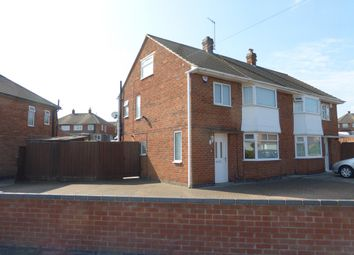Thumbnail 3 bedroom semi-detached house for sale in Ferndale Road, Thurmaston, Leicester