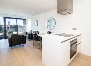 Thumbnail 2 bed flat for sale in Horizons Tower, 1 Yabsley Street, Canary Wharf