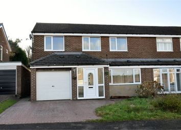 Thumbnail 4 bed semi-detached house for sale in Penhill Close, Ouston, Chester-Le-Street