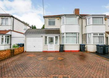 Thumbnail 3 bed semi-detached house for sale in Jerrys Lane, Erdington, Birmingham, West Midlands