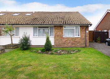 Thumbnail 3 bed semi-detached bungalow for sale in Downs Way, East Preston, Littlehampton