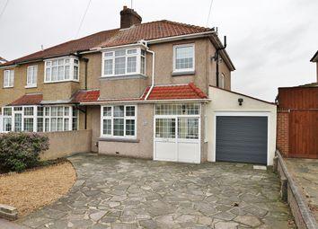 Thumbnail 3 bed semi-detached house for sale in Barnehurst Road, Bexleyheath, Kent
