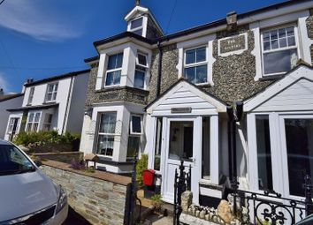 Thumbnail 5 bed semi-detached house for sale in Bossiney, Tintagel, Cornwall