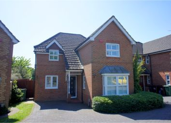 Thumbnail 4 bed detached house for sale in Angers Close, Camberley