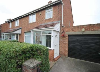 Thumbnail 3 bedroom semi-detached house for sale in Pooley Road, Denton Burn, Newcastle Upon Tyne