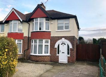 Thumbnail 3 bedroom semi-detached house for sale in Grasmere Crescent, Sinfin, Derby