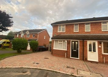 Thumbnail 2 bed semi-detached house to rent in Flinn Close, Lichfield, Staffordshire