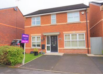 Thumbnail 4 bed detached house for sale in Jasmine Avenue, Macclesfield
