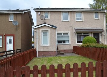 Thumbnail 2 bed semi-detached house for sale in Keynes Square, Mossend, Bellshill