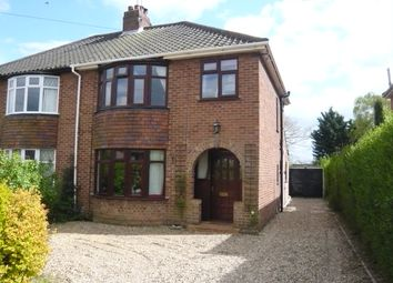 Thumbnail 3 bed semi-detached house for sale in Rosemary Road, Sprowston, Norwich