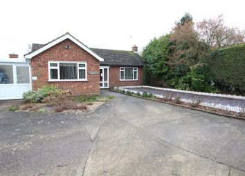 Thumbnail 3 bed detached bungalow for sale in Church Road, Stowupland, Stowmarket