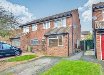 Thumbnail 3 bedroom semi-detached house for sale in Wallingford, Bradville, Milton Keynes, Buckinghamshire