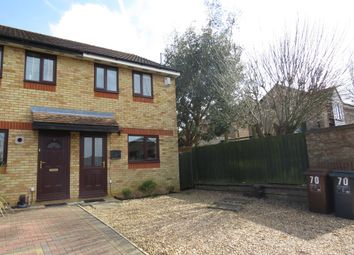 Thumbnail 2 bed semi-detached house for sale in South Copse, Northampton