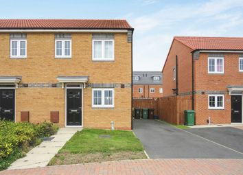 Thumbnail 2 bedroom semi-detached house for sale in Westfields, Hartlepool
