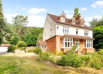 Thumbnail 6 bed detached house for sale in Frensham Road, Lower Bourne, Farnham, Surrey