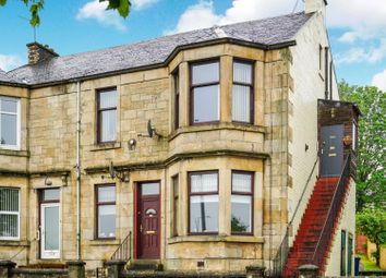 Thumbnail 3 bedroom flat for sale in East Crawford Street, Greenock