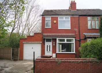 Thumbnail 3 bed semi-detached house to rent in Mirfield Avenue, Heaton Moor