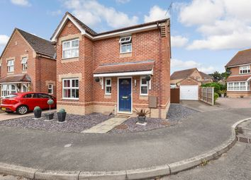 Thumbnail 3 bed detached house for sale in Coltsfoot Way, Thetford, Norfolk