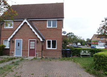 Thumbnail 1 bed end terrace house to rent in Coalport Close, Church Langley, Harlow, Essex