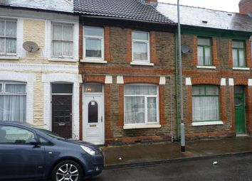 Thumbnail 4 bed terraced house for sale in Treharris Street, Cardiff