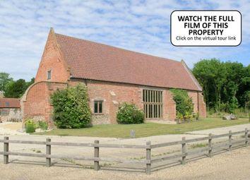 Thumbnail 5 bedroom barn conversion for sale in Happisburgh Road, Ridlington, North Walsham