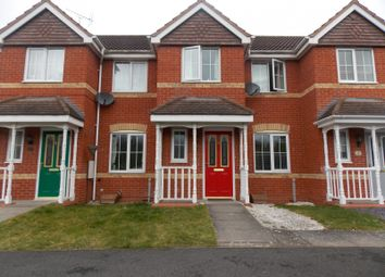 Thumbnail 3 bed terraced house to rent in Swan Drive, Hanbury Park, Worcestershire