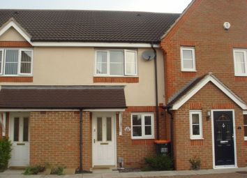 Thumbnail 2 bed terraced house to rent in Gibson Drive, Billington Park, Leighton Buzzard, Bedfordshire
