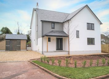 Thumbnail 4 bed detached house for sale in Applemede, Silverton, Exeter