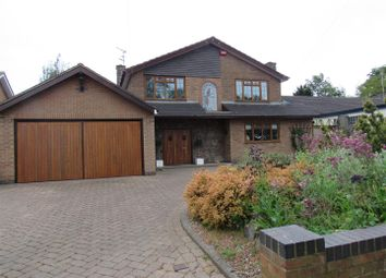 Thumbnail 4 bed detached house for sale in Rectory Road, Wanlip, Leicester