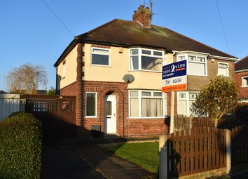 Thumbnail 3 bed semi-detached house for sale in Shortwood Avenue, Hucknall, Nottingham