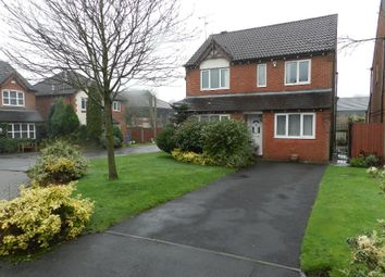 Thumbnail 3 bed detached house to rent in Cross Lane South, Risley, Warrington