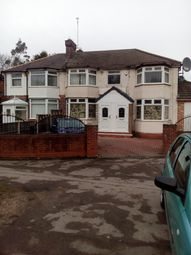 Thumbnail 3 bed flat to rent in Bromford Road, Birmingham