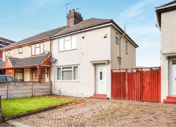 Thumbnail 3 bed semi-detached house for sale in Station Street, Wednesbury