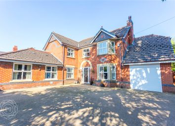 Thumbnail 4 bed detached house for sale in Stone Cross Lane North, Lowton, Warrington, Greater Manchester